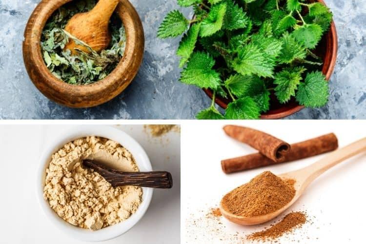 Hierbas para el aumento de peso en la menopausia