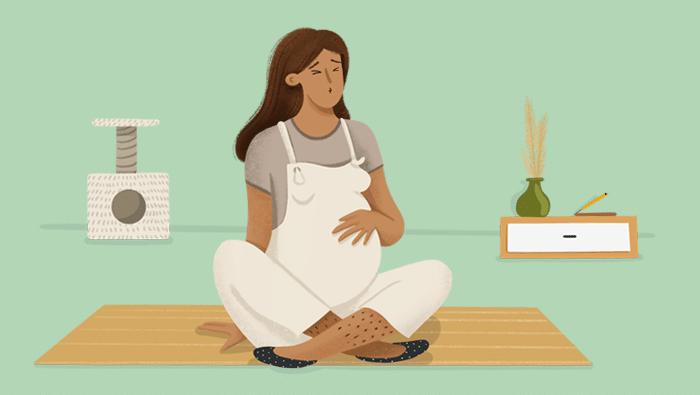 Dolor en el vientre en el embarazo: principales causas y qué hacer